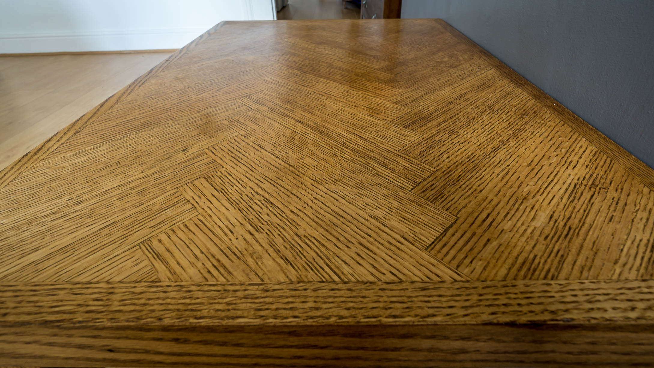 Making A Parquet Coffee Table Using Salvaged Oak Part 1 Of 2