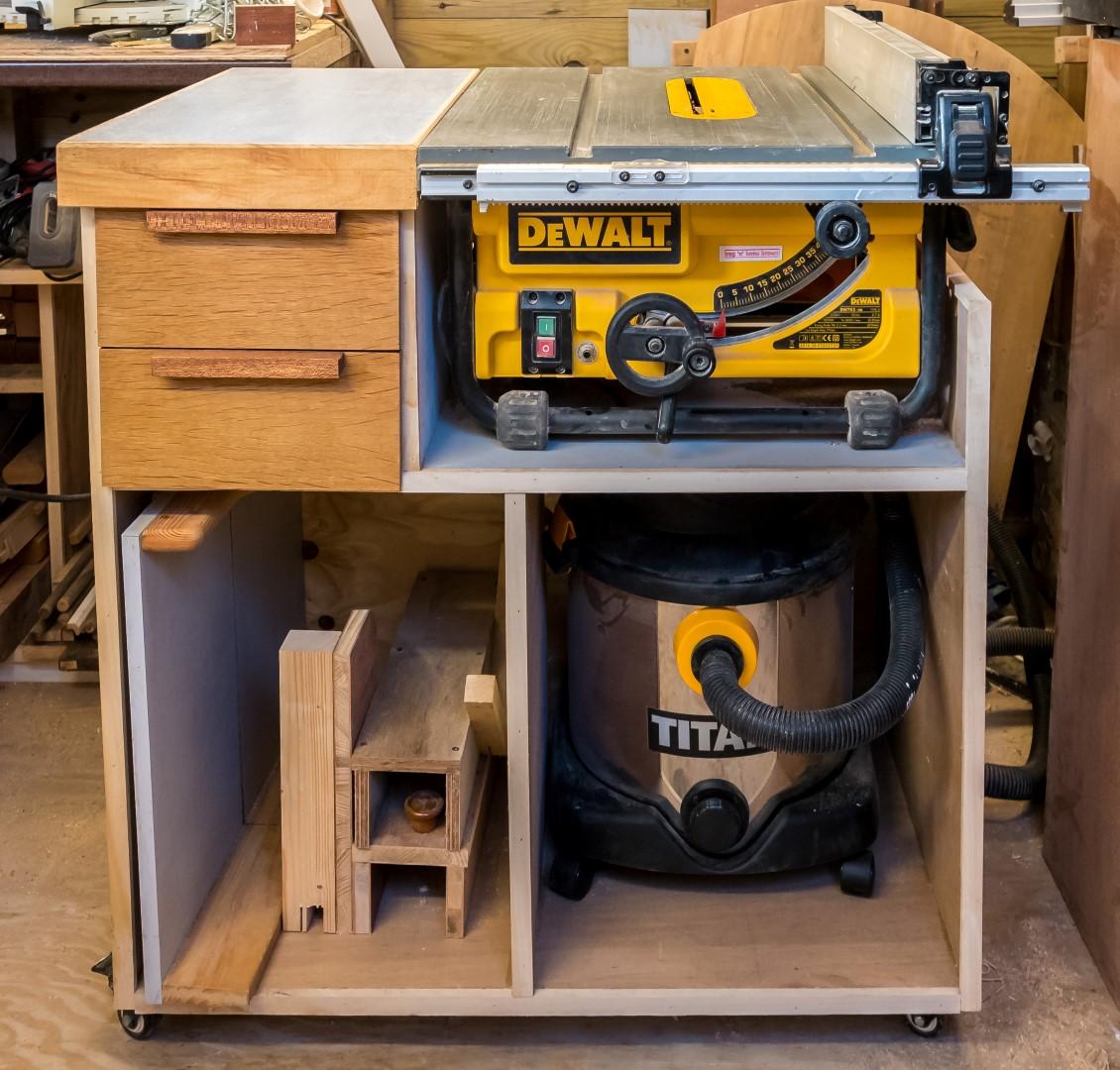 Mobile Tablesaw Stand For Dewalt Dw745 Part 2 Of 2 Workshop Re Model Episode 3 Rag 39 N
