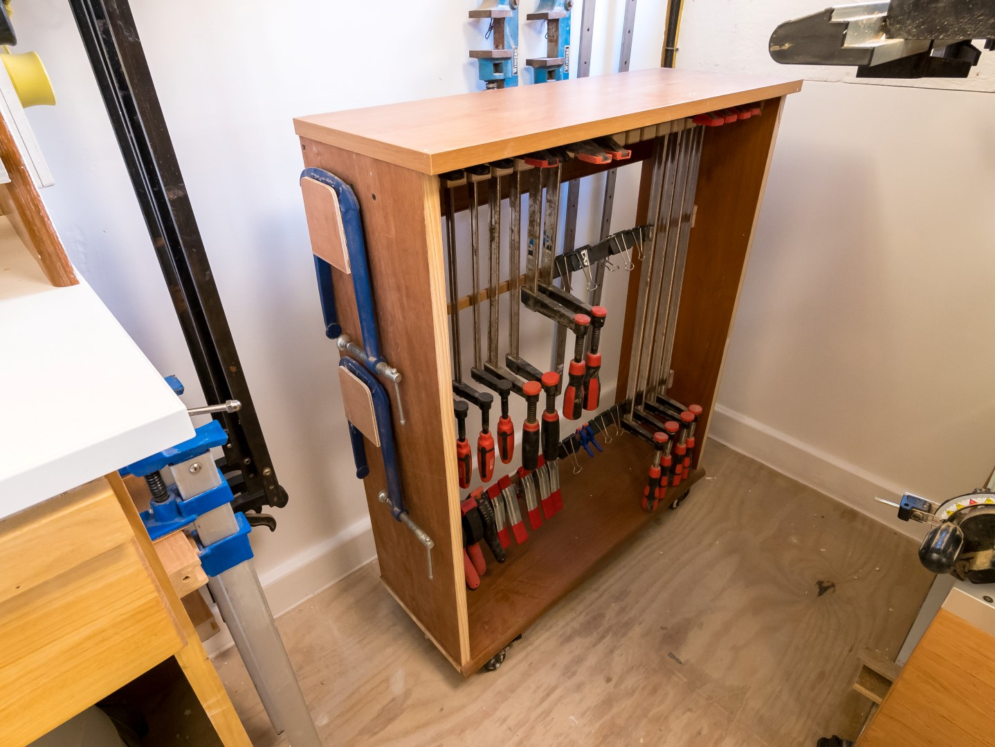 Mitre Station Support Clamp Storage